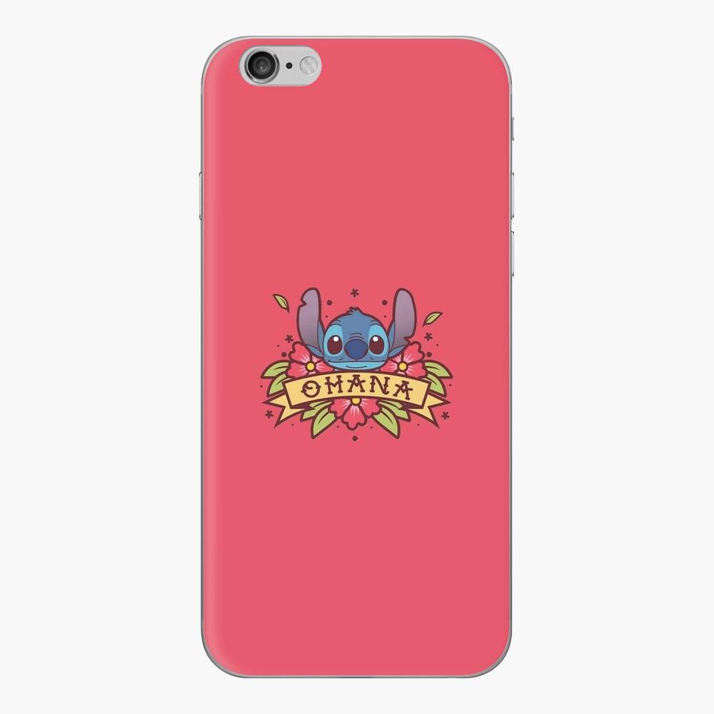 Stitch Ohana Vinilo para iPhone