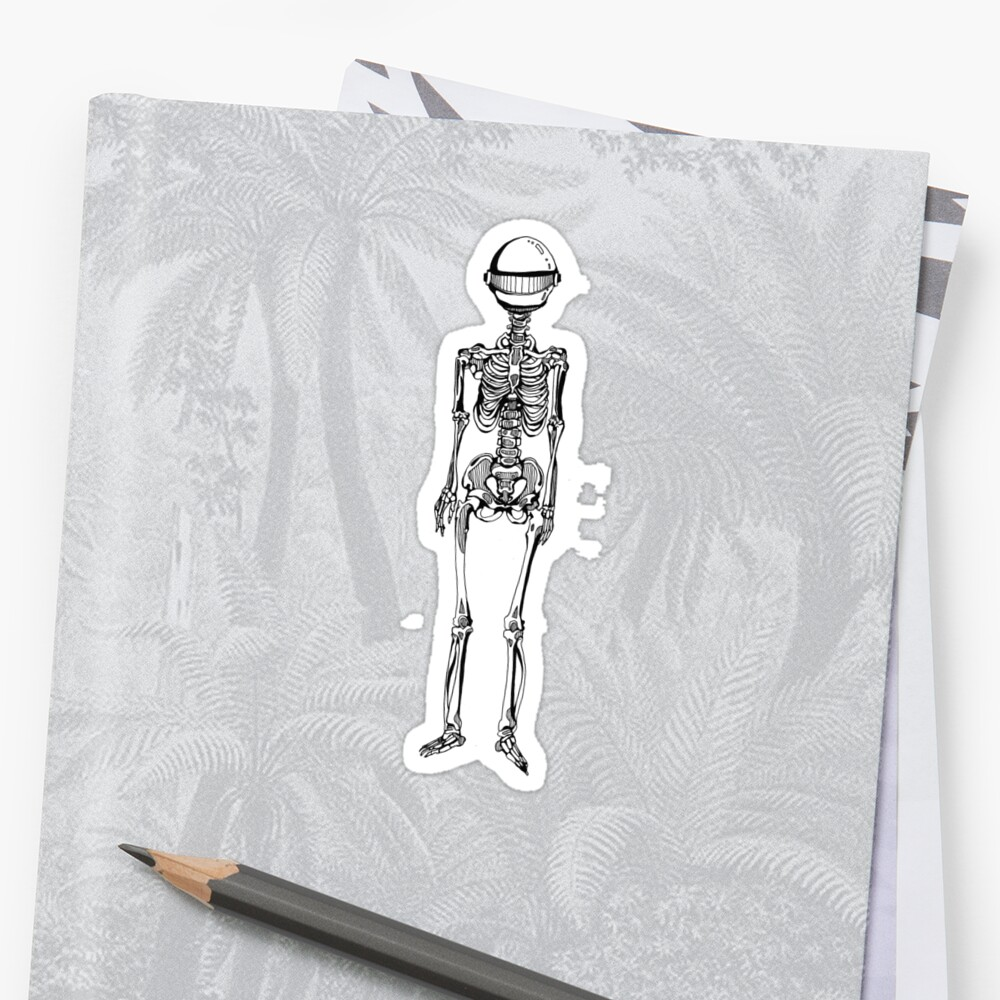 Robot Skeleton by Sonja Shoemaker