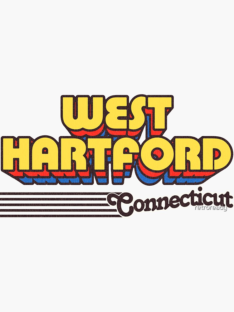 West Hartford, Connecticut | Retro Stripes by retroready