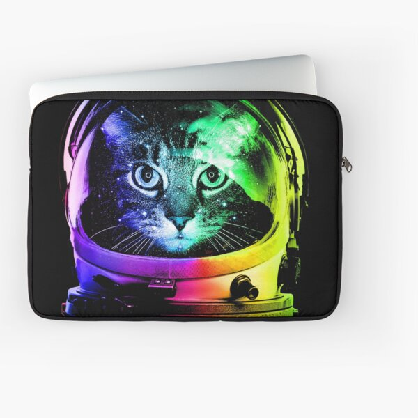 Astronaut Cat Laptop Sleeve