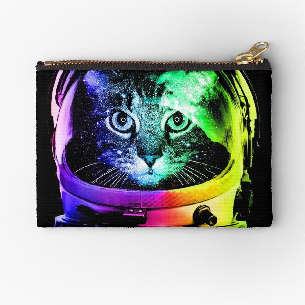 Astronaut Cat Zipper Pouch