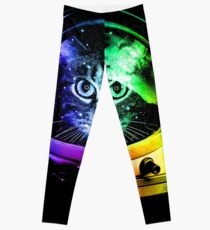 Astronaut Cat Leggings