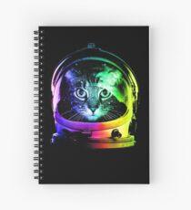 Astronaut Katze Spiralblock