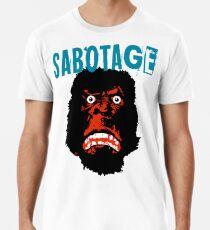 Camiseta premium para hombre Beastie Boys sabotaje camiseta