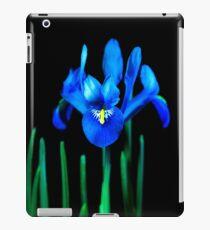 Blue Iris iPad Case/Skin