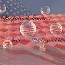 A Patriotic Heart by Glenna Walker