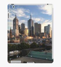 Morning Sunrise Over City iPad Case/Skin