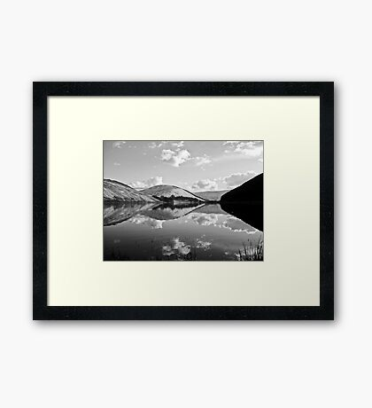 loch of the lowes (b&w) Framed Print