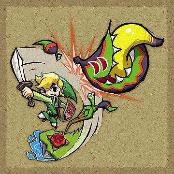 Zelda Wind Waker Boko Baba by Purrdemonium