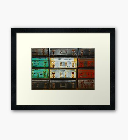 The Journey (High Resolution) Framed Print