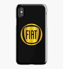 fiat - classic car iPhone Case/Skin