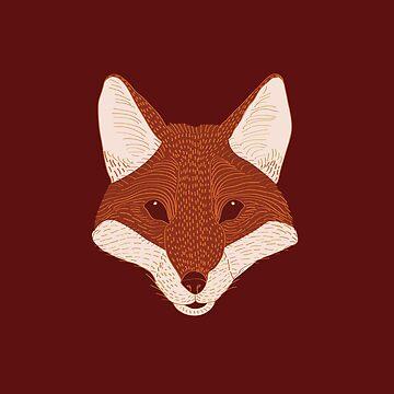 Fox by bubivisualarts