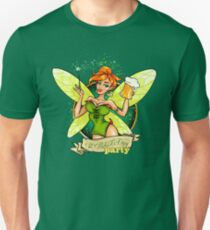 Fairy with Beer Unisex T-Shirt