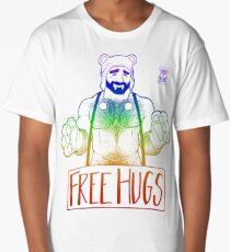 ADAM LIKES HUGS LINEART - GAY PRIDE Long T-Shirt