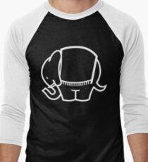 Cagiva Elefant big white Men's Baseball ¾ T-Shirt