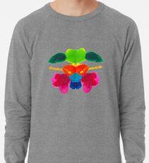 Blüten Tintenklecks Rorschach Leichtes Sweatshirt