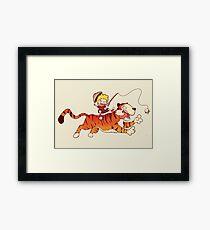 Calvin and Hobbes Framed Print