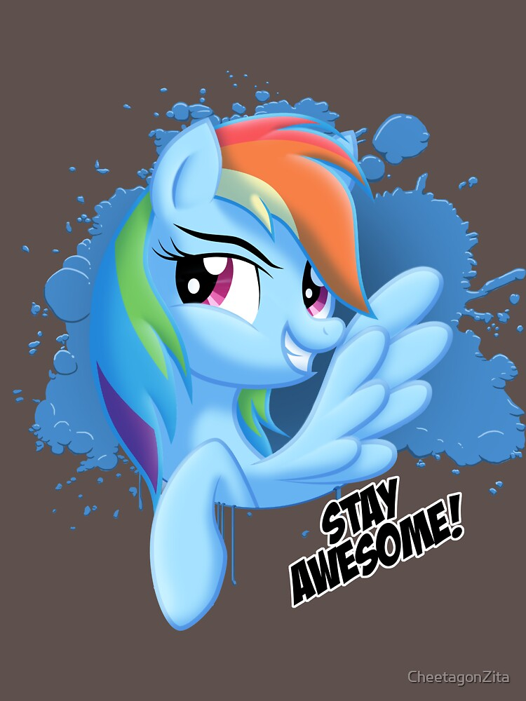 Stay Awesome! by CheetagonZita