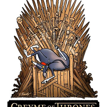 Greyme of Thrones: a Rich Skipworth design only available from REDBUBBLE by RichSkipworth