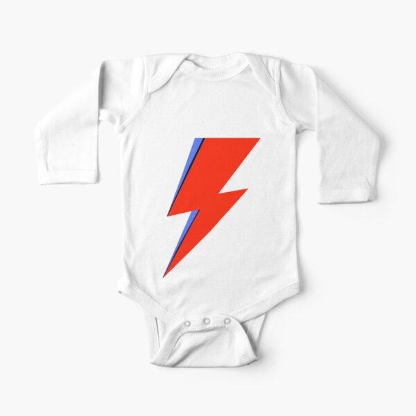 Bowie Ziggy  Long Sleeve Baby One-Piece