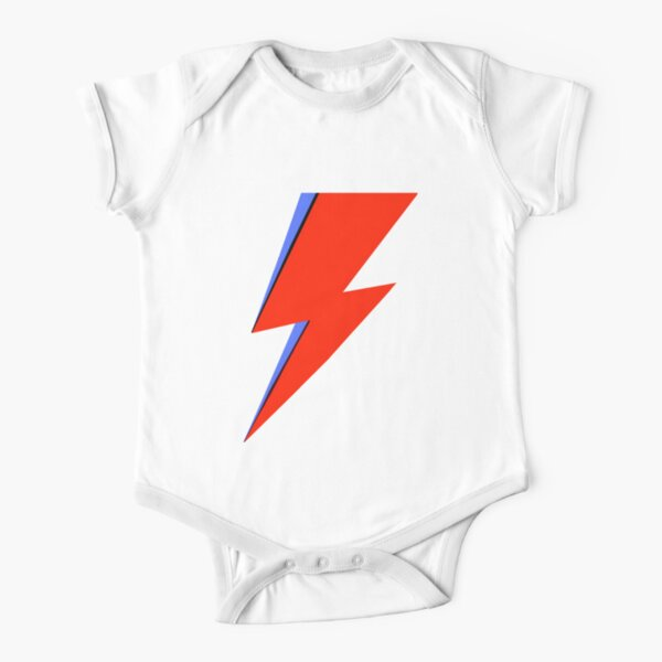 Bowie Ziggy  Short Sleeve Baby One-Piece