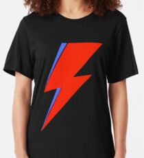 Bowie Ziggy  Slim Fit T-Shirt