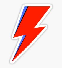 Bowie Ziggy  Sticker