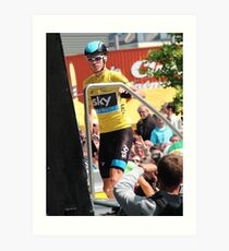 Chris Froome (1), Tour de France 2013  Art Print