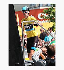Chris Froome (1), Tour de France 2013  Photographic Print