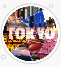 Cool Tokyo Touristic Attractions Japan Sticker
