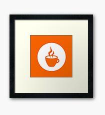 Hot beverage Framed Print