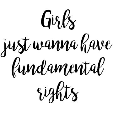 Girls just wanna have fundamental rights by koovox