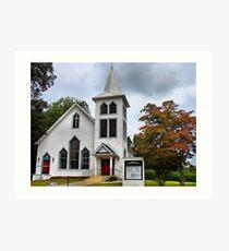 Acworth Christain Church Art Print
