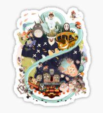 Miyazaki Sticker