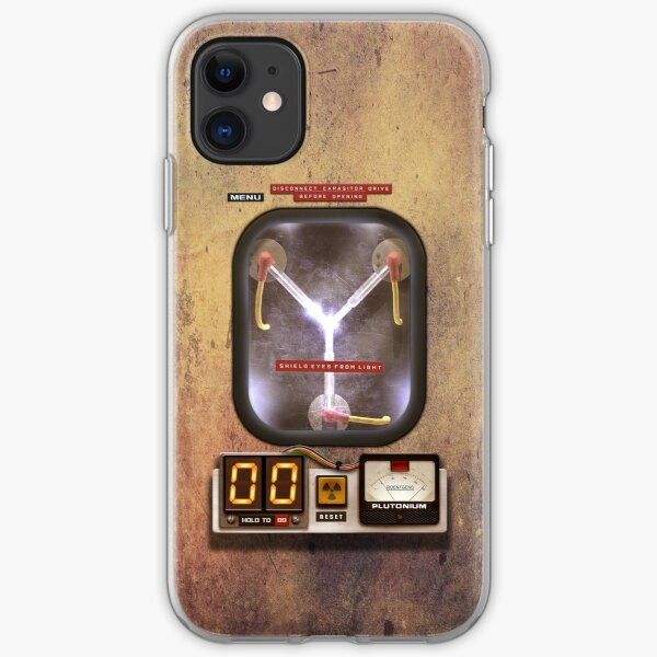 Steampunk rustic Flux capacitor iPhone Soft Case