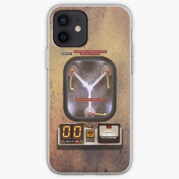 Steampunk rustic Flux capacitor iPhone Soft Case