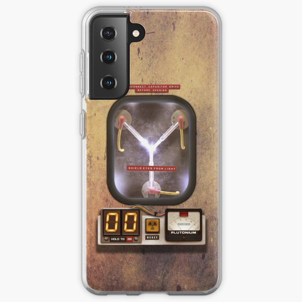 Steampunk rustic Flux capacitor Case & Skin for Samsung Galaxy