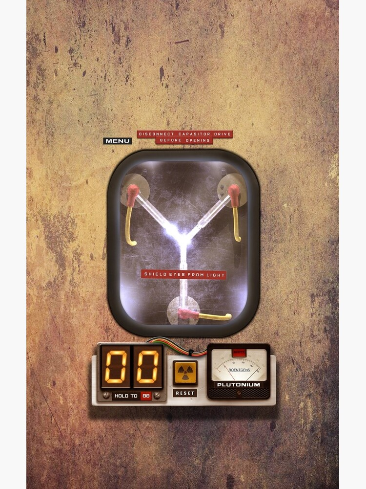 Steampunk rustic Flux capacitor by GalihArt