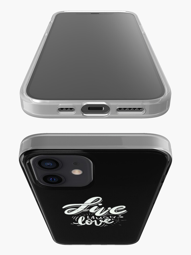 Alternate view of Live Laugh Love iPhone Case & Cover