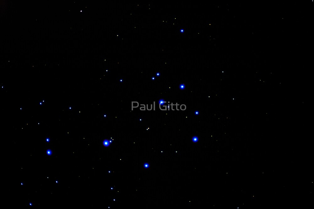The Sweet Influences of Pleiades by Paul Gitto