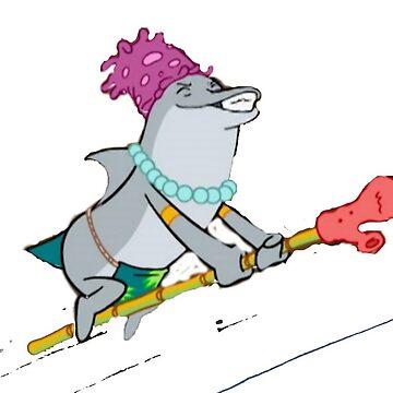 Witch Dolphin by NancyD51