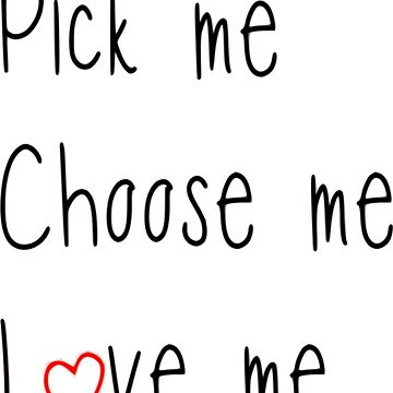 Pick me, choose me, love me - greys by KikkaT