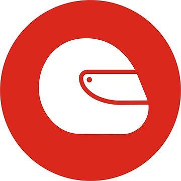 F1 Helmet (Superlicense sticker) by superlicense