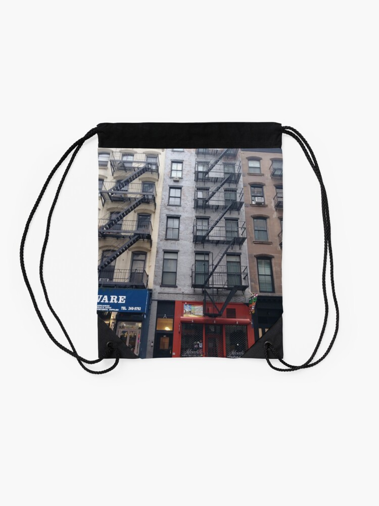 Alternate view of Building Drawstring Bag
