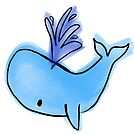 Blue Whale by itsaduckblur