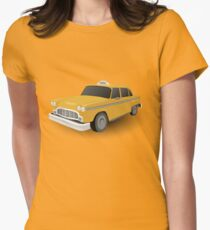 Taxi !!! Womens Fitted T-Shirt