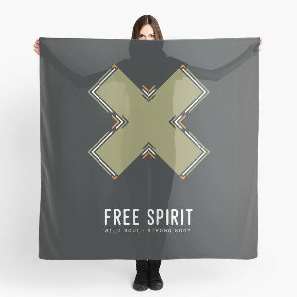Free Spirit, Wild Soul, Strong Body Scarf