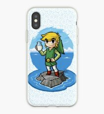 Zelda Wind Waker Bottle of Milk iPhone Case