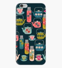 Vintage Thermos - Teacups and Teapots by Andrea Lauren iPhone Case
