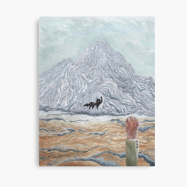 The Winter Wolf - Fantastic Mr Fox by wes Anderson Canvas Print